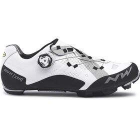Northwave Ghost XCM Shoes Men white/black
